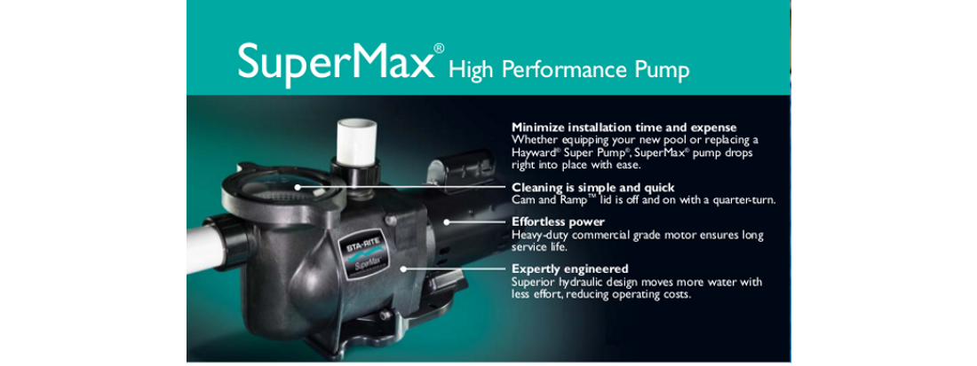 SuperMax High Performance Pump
